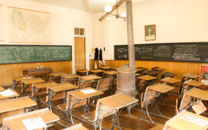 Historic Classroom at the Fourth Ward School Museum