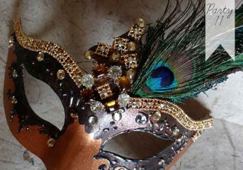 Party 11: Create Your Own Victorian Mask
