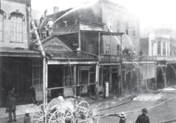 Virginia City's Great Fire of 1875