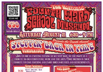 4th Annual Steppin' Back in Time 1960s Fundraiser Party
